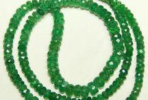Emerald Color Tsavorite Beads / Premium Emerald Color of Tsavorite Loose Beads & Strings