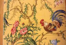 Rooster style / Decorating, fabrics and incidentals featuring roosters and chickens