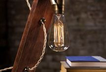 creative wood lamps