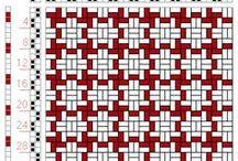 Tkactwo - schematy wzorów