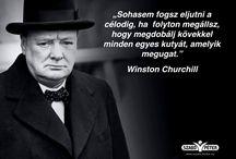 Churchill idézetek