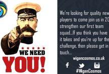 New Players Wanted / We're looking for new players for 16/17.....