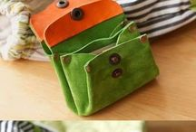WALLET and MINI HAND BAG-sewing