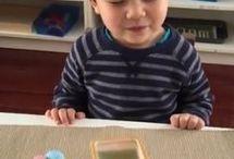 brincadeira montessori