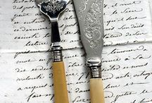 Flatware....cutlery / Just lovely old and new designs. All the ones I want to own.