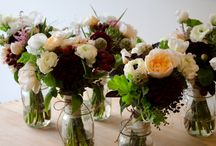 Bouquet - Mixed with blush & dark accents / by Flower 597
