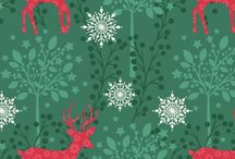 Christmas / christmas fabrics, books and gift ideas