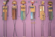 Keramické postavy