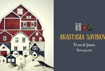 Anastasia Savinova Kolajları / Rus asıllı İsveçli sanatçı Anastasia Savinova, gittiği yerlerin karakteristik özelliklerini, kendine has atmosferlerini ve hissettirdiklerini esas alarak Genius Loci adı altında son derece yaratıcı ülke ve şehir kolajları üretiyor...