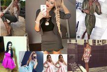 Krásne ženy v našich krásnych modeloch! / Reálne foto našich produktov :)