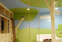 Kids Rooms Ideas / Amazing Kids room ideas, from extreme bunk bed tree house to whimsical designs.