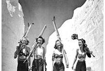 Vintage ski photos