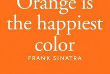 Orange is the HAPPIEST Color! / everything orange
