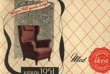 Catalogul IKEA 1951 – 2006  / Fac parte din povestea noastră - sunt Cataloagele IKEA din 1951 până aproape de zilele noastre. / by IKEA Romania