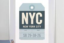 offizina prints · luggage tags