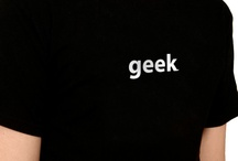 Geek T-shirts / by Bytelove AB