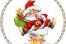 runde julebilder