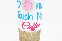 WWW.JUSTICEABRIELLE.COM / Customized drinkware and apparel. All drinkware is completely customizable!