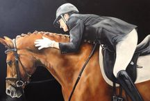 Equestrian Art & Sporting Art / Mostly commission paintings and drawings of horses by Tony O Connor Equine Art