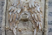 Angel wing creation ideas
