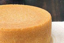 Cakes Italian sponge cake