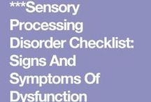 senzory processing disorder