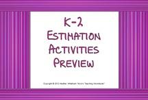 Math - Estimation / by Leah Bodeen Meiser