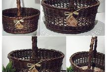 Pletení - nápady / vše z papíru