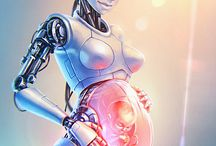 Cyberpunk pregnancy / Well this is the weirdest search term I have ever used!