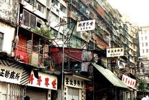 Kowloon and hongkong