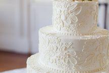 wedding cakes / by Rachael Wheeler