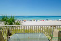 'Down By The Sea' Shores of Panama Beach Resort 201 / Down by the Sea is a much sought after 3 bedroom, 3 bathroom beachfront vacation rental condo located in Panama City Beach, FL. Emerald Beach Properties, Inc. manages this property for the owner. Call (850) 234-0997 to book today!