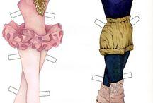 Paper Dolls - Ballet