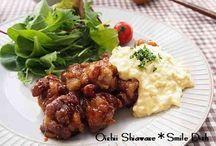 レシピ:主菜(肉)