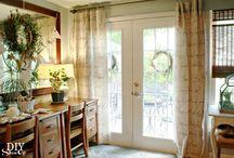 Window Treatments / Ideas for Curtains