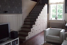 Schody - úložné prostory