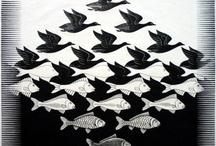 MC Escher ❤️ / One of my fave artists
