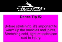 LOFDC Dance Tips / Health and fitness tips for dancers