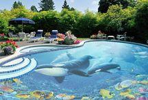 Cool 3D Epoxy Swimming Pools