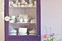 mobiliario de colores