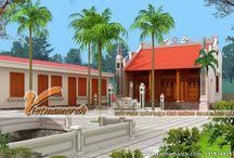Mẫu thiết kế nhà thờ họ mặt bằng chữ Đinh / Nhà thờ mặt bằng chữ Đinh: Vietnamarch đơn vị thiết kế nhà thờ chuyên nghiệp với nhiều mẫu nhà thờ mang kiến trúc cổ, tâm linh.  http://vietnamarch.com.vn/thiet-ke-kien-truc/thiet-ke-nha-tho-ho/