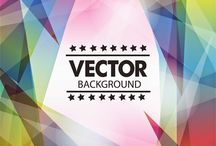 Vector Backgrounds / Collection of Backgrounds Vector Illustration Free Download