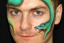 face painting slang