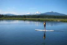 Family Summer Vacation / Family Fun at Black Butte Ranch.  Canoeing, Kayaking, Stand up Paddleboard, Archery, Slacklining, Climbing Wall and more!