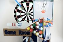 Games Themed Parties / Party decoration ideas about games we play.