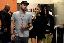 Ariana grande and Scooter braun