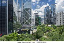 teknolojik şehir manzaraları