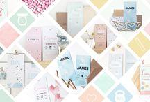 Allerlievelings - Geboortekaartjes / De Allerlievelings geboortekaarten zijn  met liefde en passie door ons ontworpen.  De verzending is gratis en inclusief enveloppen van 100% gerecycled kraftpapier.