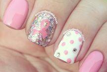 paznokcie rozowe