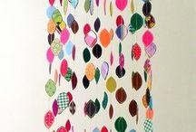 Fabric scraps / by Sara